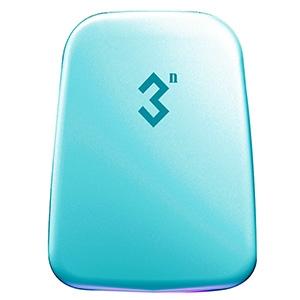 3N科技抗菌美瞳收纳盒12宫格隐形眼镜伴侣盒--蓝色