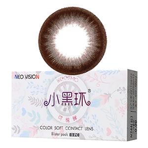 NEO可视眸美瞳隐形眼镜半年抛1片装-巧克力色
