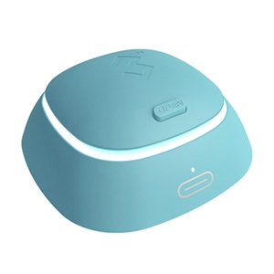 3N4代隐形近视眼镜自动清洗器-蓝色