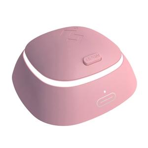3N4代隐形近视眼镜自动清洗器-粉色