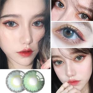 艾樂視年拋美瞳1片瓶裝-暮澈綠