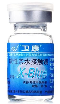 卫康X-BLUE年抛隐形眼镜1片装.jpg