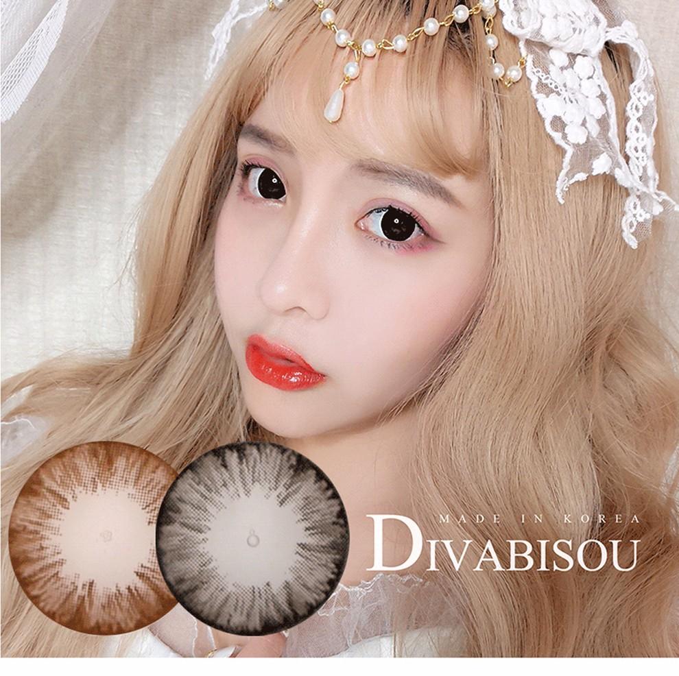 韩国Divabisou年抛美瞳1片装-冰花系列