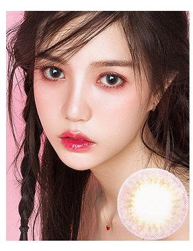 韩国进口艾乐视年抛美瞳-爱丽丝粉
