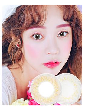 韩国进口艾乐视日抛美瞳hepburn系列