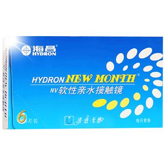 海昌NEW MONTH月抛隐形眼镜6片装