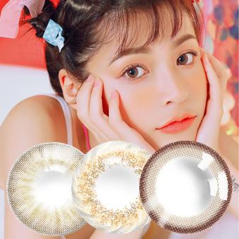 韩国进口艾乐视日抛美瞳隐形眼镜30片