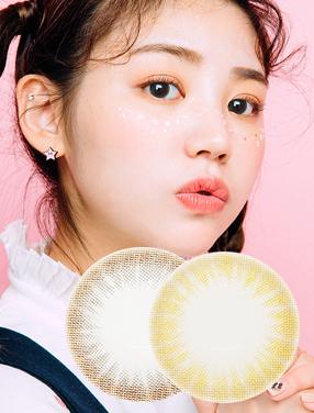 韓國進口艾樂視美瞳年拋糖果系列