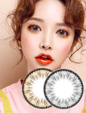 韓國進口美瞳月拋熒光灰色