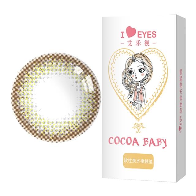 艾乐视人鱼姬2代灰色年抛1片14.20美瞳隐形眼镜-灰色