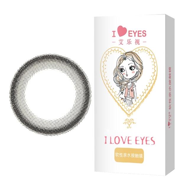 艾乐视FS美瞳隐形眼镜年抛1片-小巧环
