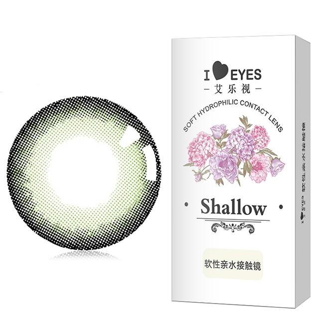 艾乐视绿野仙踪系列半年抛美瞳1片装—绿色