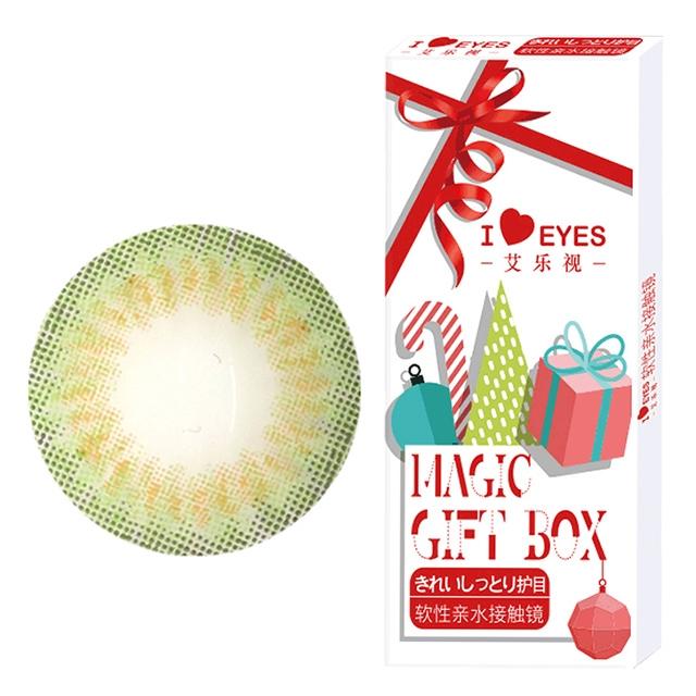 韩国进口艾乐视年抛美瞳1片装-魔力绿