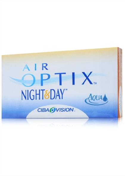 视康水润日夜型硅水凝胶月抛隐形眼镜3片装
