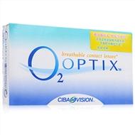 视康舒视氧硅水凝胶月抛隐形眼镜3片装
