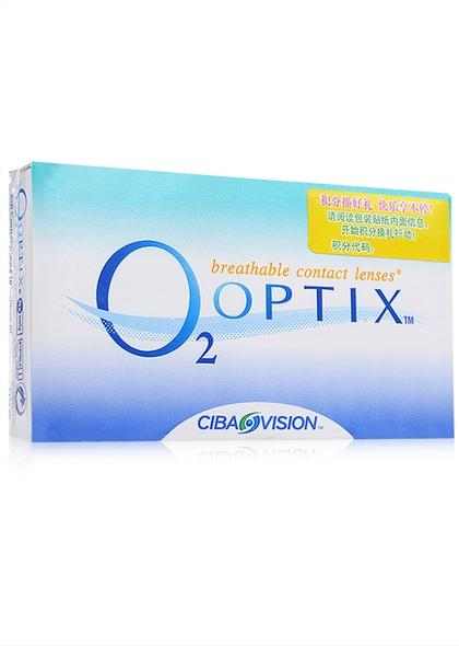 视康舒视氧硅水凝胶月抛隐形眼镜6片装