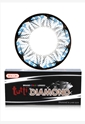 BESCON双色钻石蓝色半年抛隐形眼镜1片装