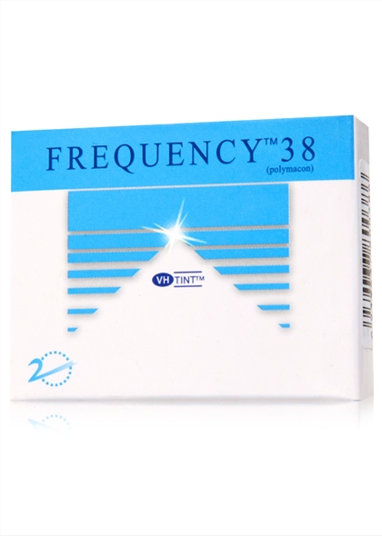 酷柏Frequency38半年抛隐形眼镜2片装