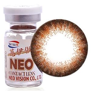 NEO恩伊傲巨目棕S4-3美瞳隐形眼镜年抛1片