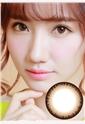 艾乐视新大美目系列年抛美瞳1片装—水凝焕彩棕