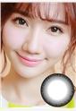 艾乐视新大美目系列年抛美瞳1片装—水凝焕彩黑