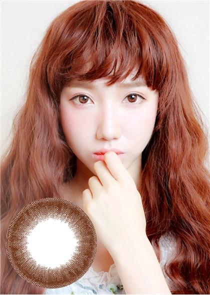 艾樂視新大美目系列年拋美瞳1片裝—魔法深邃巧