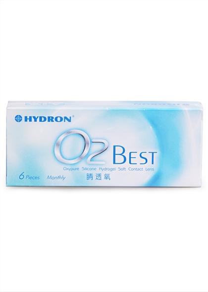 海昌O2BEST睛透氧月抛隐形眼镜6片预售