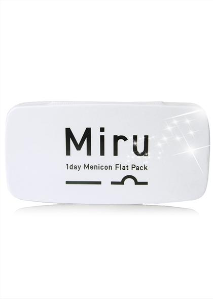 Miru米如日本進口近視隱形眼鏡日拋30片超薄
