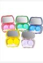 非卖品伴侣盒镜盒隐形眼镜护理盒卡通美瞳盒双联盒
