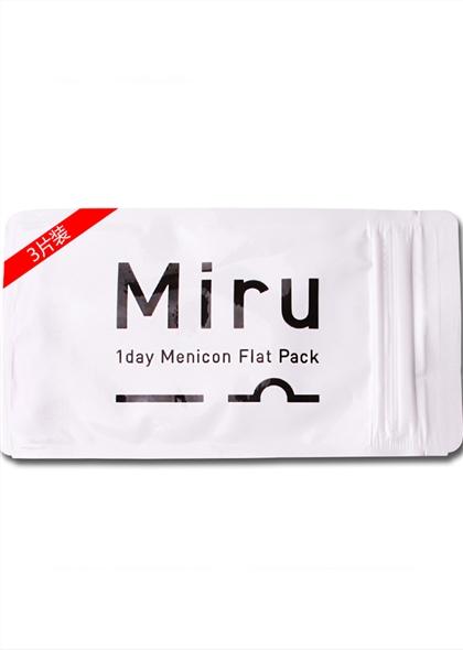 Miru米如进口隐形近视眼镜日抛3片装