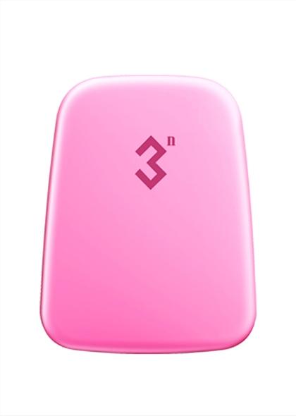 3N科技抗菌美瞳收纳盒12宫格隐形眼镜伴侣盒--粉色