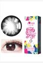 韩国进口艾乐视大小直径年抛美瞳1片装-大美目黑色