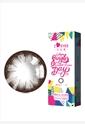 韩国进口艾乐视大小直径年抛美瞳1片装-大美目棕色