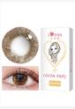 艾乐视年抛美瞳1片装晶眸系列—咖啡棕色