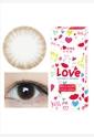 韩国进口艾乐视大小直径年抛美瞳1片装-糖果灰