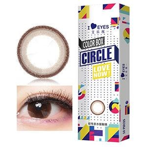 韩国进口艾乐视日抛美瞳隐形眼镜30片-小巧环