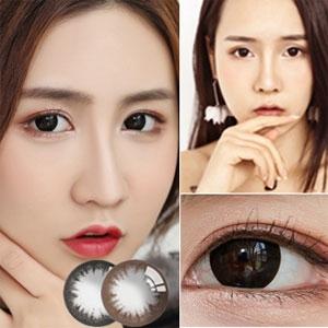 韩国进口艾乐视美瞳月抛1片-大羙目黑色