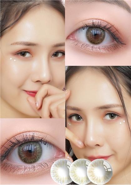 韓國進口艾樂視美瞳半年拋1片-Color baby棕