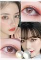 韓國進口艾樂視美瞳日拋10片-愛麗絲棕