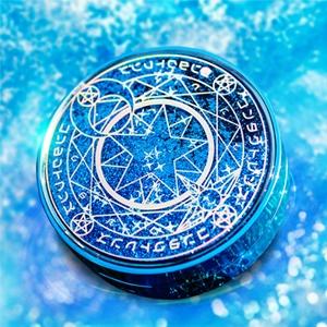 魔法陣美瞳伴侶盒星空流沙鏡盒-藍色