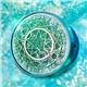 魔法陣美瞳伴侶盒星空流沙鏡盒-綠色