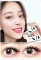韩国进口艾乐视日抛美瞳10片-hepburn棕