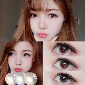 韩国进口艾乐视年抛美瞳1片装-浮光棕